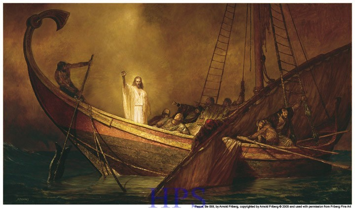 Christ in the storm 3